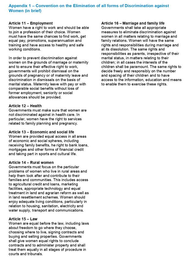 Agenda of Community Development and Safety Committee - 9